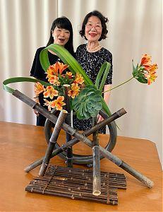 Hiroko Prado (new Director) thanking Ping Block